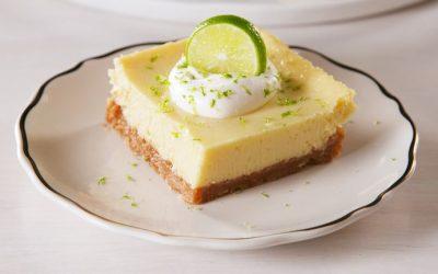 Smooth & Creamy Key Lime Bars