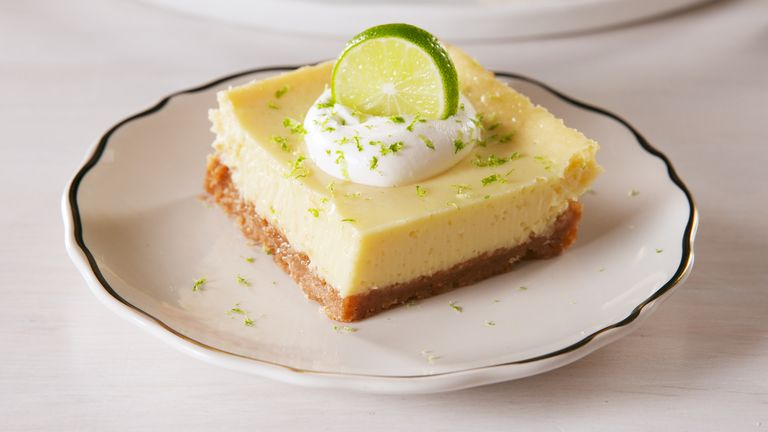 Smooth & Creamy Key Lime Bars