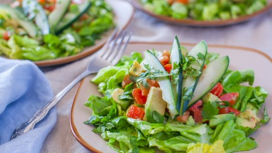 Avocado Lime Salad