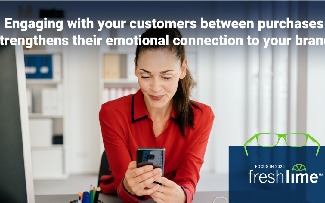 Engaging with Customers Between Purchases Strengthens their Attachment to Your Brand