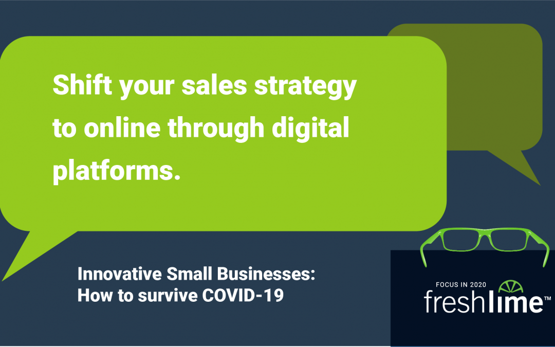Shift Your Sales Strategy to Online through Digital Platforms