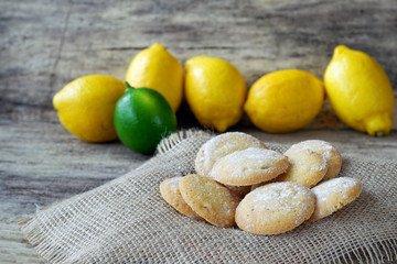 Sweet Lime Sugar Cookies