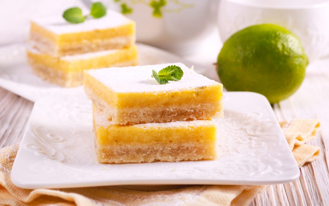 Low Carb Key Lime Bars