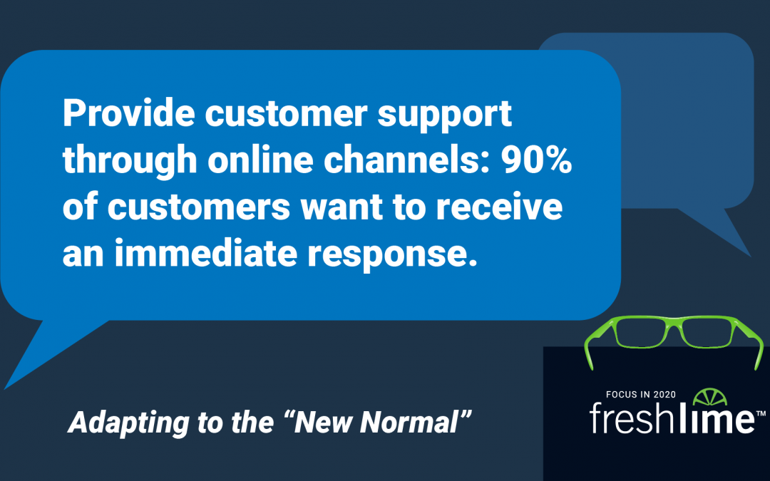 90% of Customers Expect Immediate Responses from Customer Support