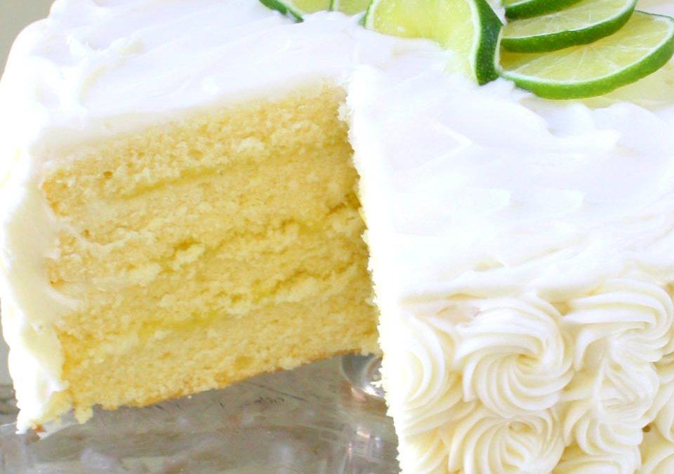 Fluffy Lime Cake