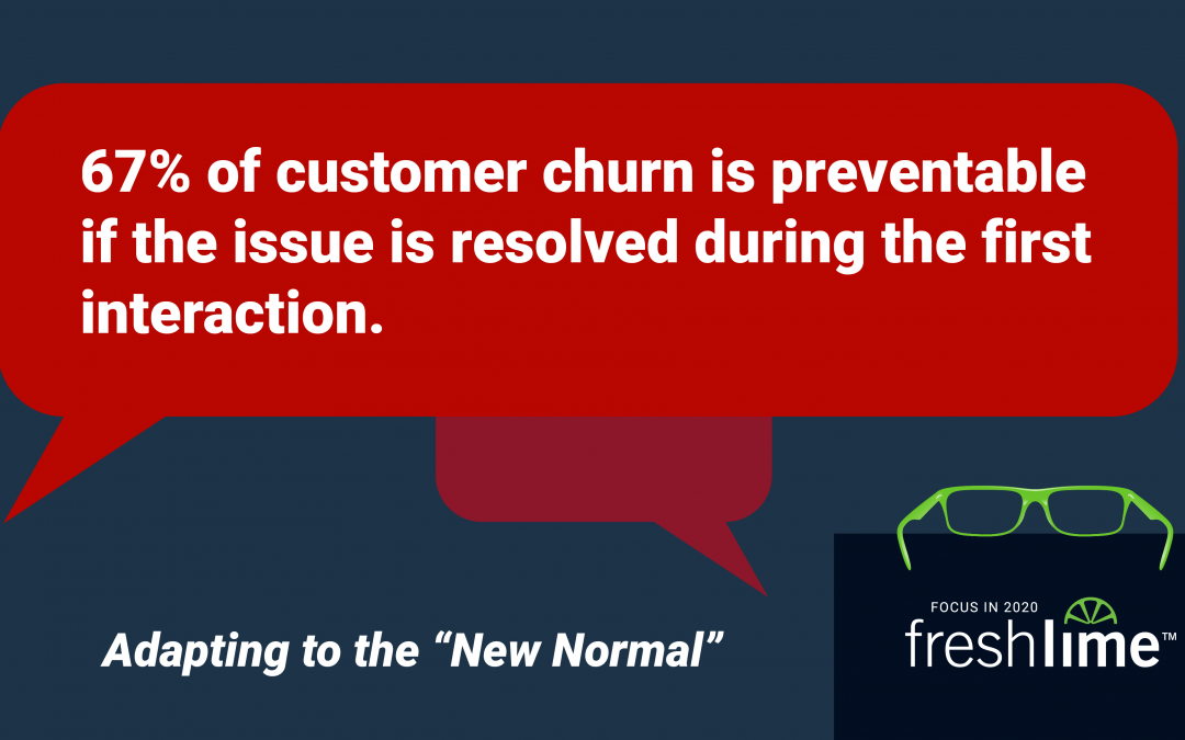 Retain Your Customers: 67% of Customer Churn is Preventable