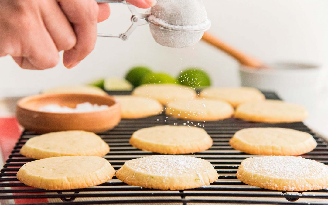 Lime Icebox Cookies