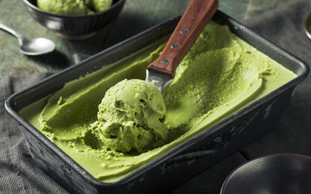 Refreshing Lime Sorbet
