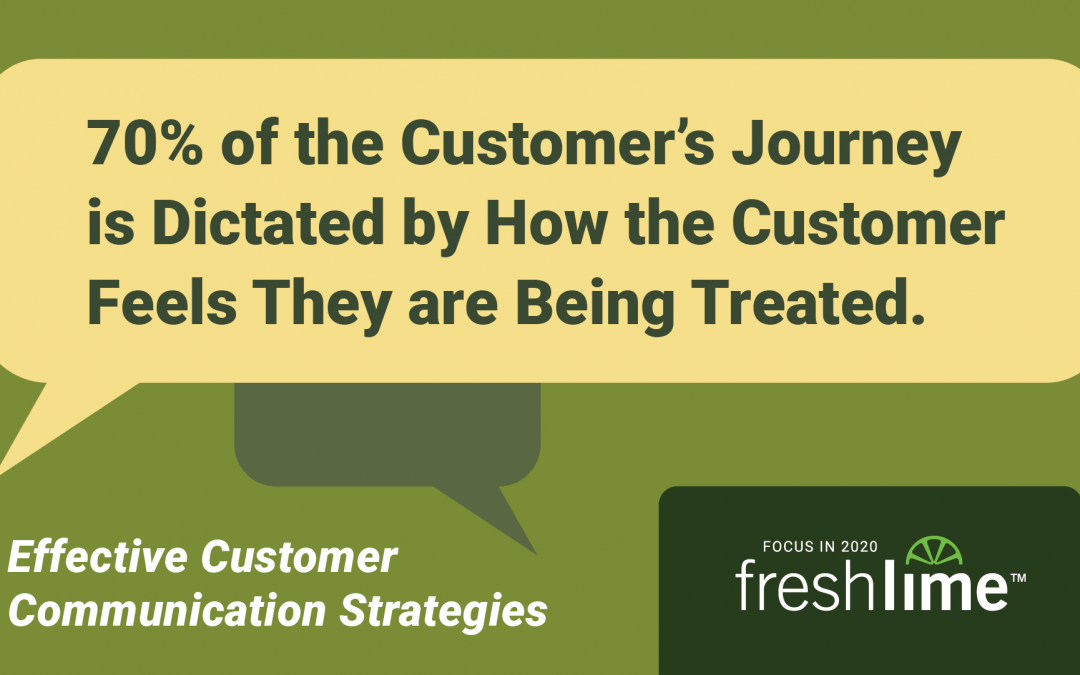 70% of the Customer's Journey is Dictated by How the Customer Feels they are Being Treated