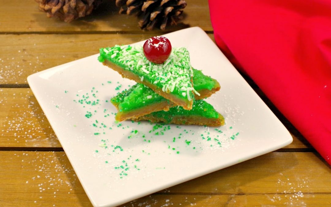Gingerbread & Lime Bars