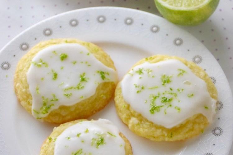 4 Ingredient Lime Cookies